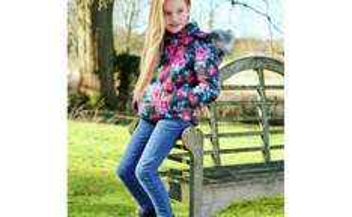 Cherokee Girls Tonal Leopard Print Jeans - 5-12 Years £2 @ Argos