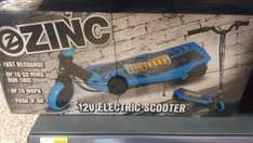 Blue electric scooter Tesco instore - £30.87 (Thurrock)