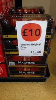18x440ml Cans of Magners for £10 at Co-op Food