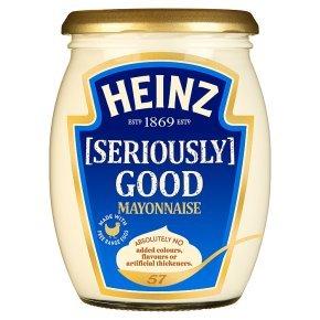 Heinz Seriously Good Mayonnaise & Light Mayonnaise (460g) Glass Jars was £2.49 now £1.24 @ Waitrose