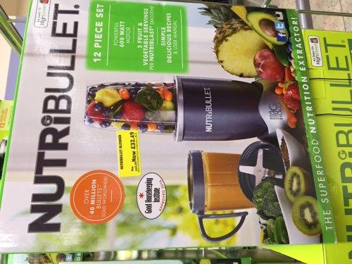 Nutribullet 600w Blender - £32.49 - Morrisons in Peterborough