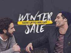 Lyle and Scott - 60% Sale items