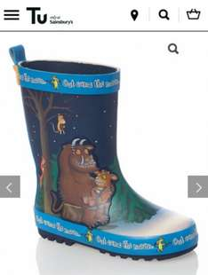Gruffalo Welly half price infant sizes 5-10 £4.50 @ tu clothing