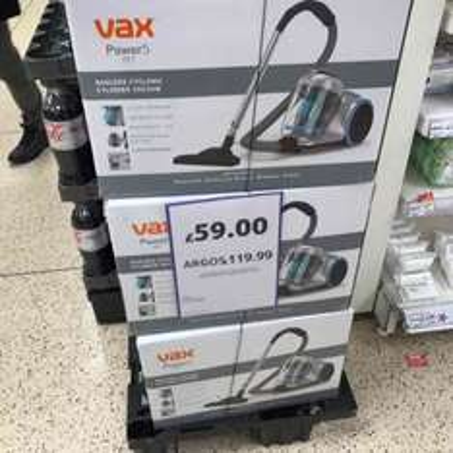 VAX POWER5 PET - £59 IN TESCO - RRP:119.99£ instore