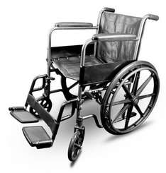 Puncture Proof Self Propel Folding Portable Propelled Wheelchair £58.49 Inc fast delivery at Lloyd's pharmacy eBay.