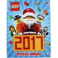 Lego 2017 Annual - 80p @ The Works (free c&c)