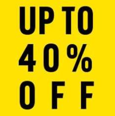 Ebay Argos Clearance - Extra 40% / 30% / 20% / 10 off off at checkout