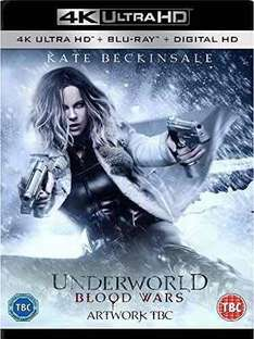 Underworld Blood Wars (4K Ultra HD + Blu-ray) [UHD] pre-order £18.00 @ Zoom w/ code SIGNUP10