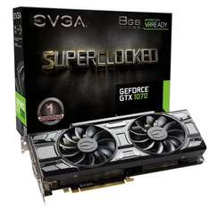 EVGA GTX 1070 Superclocked - In stock on the 19th Amazon - £350.90