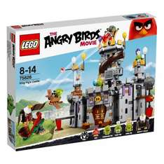 Lego Angry Birds King Pig's Castle 75826 £30.00 Smyth's Toys
