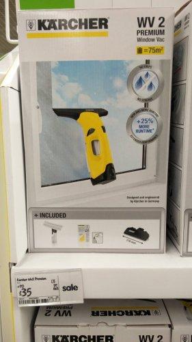 KARCHER WV2 Premium Window Vac (ASDA instore) - £35