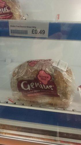 Genius gluten free bread 49p @companyshop