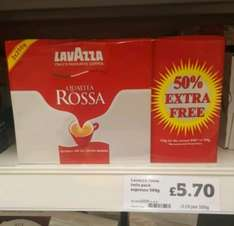 Lavazza Rossa 3x250g instore at Sainsburys  (East Kilbride) for £5.70
