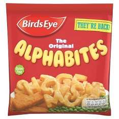 Birds Eye The Original Alphabites (456g) was £1.50 now 2 for £2.00 @ Iceland