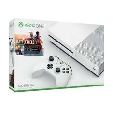 xbox one s 500gb console & battlefield one £249 @ Smyths