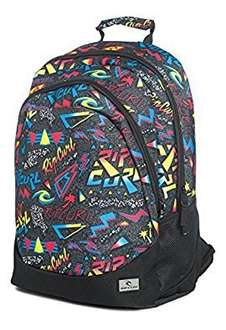 RIP CURL Mens Neon Vibes Proschool Backpack @Amazon
