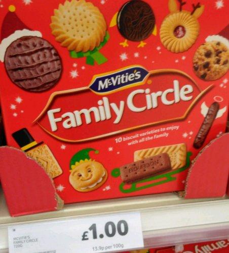 mcvities family circle 720g £1 @ Tesco