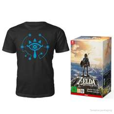 The Legend of Zelda: Breath of the Wild (Limited Edition) + T-Shirt - NINTENDO STORE £89.99