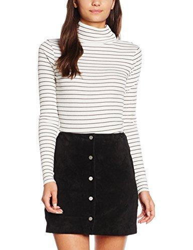 New Look Women's Laurel Stripe Roll Neck Tops £1 @ Amazon (Add-on)