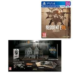 Resident Evil 7 Biohazard PS4 (Steelbook) with Collector's Edition Pre-order £149.99 @ Game