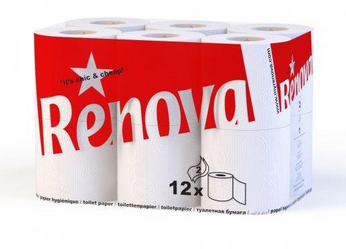 Renova Duplex 2 Ply Toilet Tissue Paper Roll (108 Rolls) £14.99 from vinsaniuk via eBay