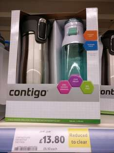 Contigo flask and bottle two pack £13.80 instore @ Tesco