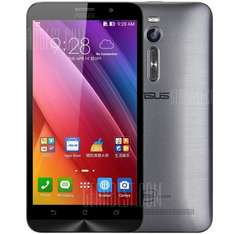 ASUS ZenFone 2 ( ZE551ML ) 4G Phablet  -  GRAY 143473501 5.5 inch FHD Screen Android 5.0 Intel Z3560 64bit Quad Core 1.8GHz 4GB RAM 16GB ROM 13.0MP Camera, 1 day, 13:40 Flash Sale left at £112.23, at GearBest