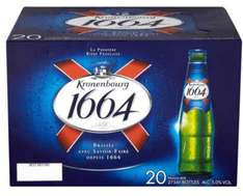Kronenbourg 20 x 275ml bottles £10 @ Home Bargains