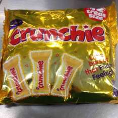 210g treat size crunchie bag 59p @ farmfoods
