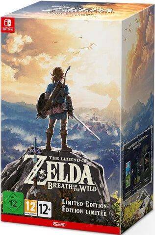 Legend Of Zelda Breath of the Wild Special Edition Nintendo Switch Argos - £79.99