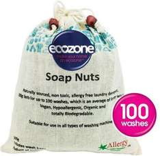 Ecozone Hypoallergenic & Organic Soap Nuts 1kg was £12.99 now £8.66 @ Ocado