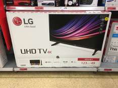 """LG 49"""" 4K HDR TV (49UH61) reduced to £400 in Sainsbury's (instore)"""