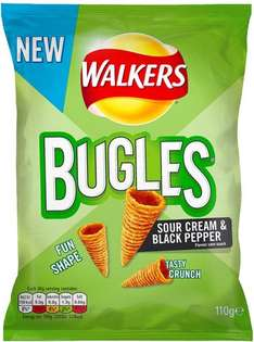 Walkers Bugles Southern Style BBQ Snacks (110g) was £1.98 now £1.00 (Rollback Deal) @ Asda