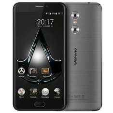 Ulefone Gemini 4G Phablet-GRAY207915402Android 6.0 MTK6737 Triple cameras - £112.23 @ GearBest