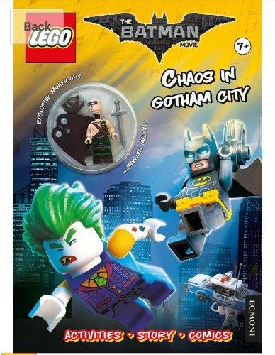 LEGO Batman Movie: Chaos in Gotham City book and Tartan Batman minifigure £3.49 (Prime)