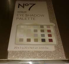 No.7 Ultimate Eye Shadow Palette 50% off £10 instore @ Boots