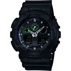 G-Shock Men's Watch GA-100MB-1AER - Amazon - £55.00