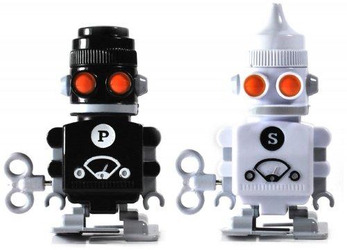 'Suck UK' Robot Salt & Pepper shakers - £3.60 Prime / £5.59 Non Prime @ Amazon