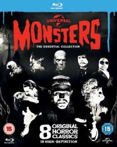 Universal Classic Monsters Collection Blu-ray £9.99 @ Zavvi