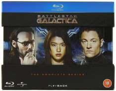 Battlestar Galactica - The Complete Series [Blu-ray] for £15.81 Amazon Lightning Deal