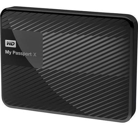 WD 2 TB My Passport X Portable External Hard Drive, USB 3.0 - Black £59.66 @ Amazon