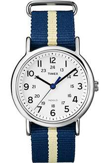 Timex Weekender with Blue Strap Quartz Watch £22.66 Del @ Amazon