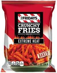 Tgi Fridays Crunchy Fries Extreme Heat or jalapeno peppers BB 11/17 59p instore  at B&M