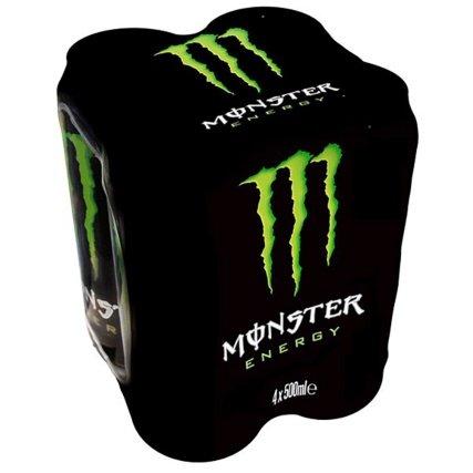 Monster assault energy drink 4x500ml £1.99 in b&m colchester