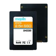 Phison 240GB 2.5-Inch SATA III SSD 540MB/s Internal Solid State Drive Storage  £59.99 + Free Delivery @ Amazon.co.uk / Maplin