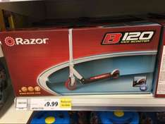 Razor B120 Stunt Kick Scooter Was £40 Now £9.99 Tesco in Stores