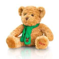 keel Christmas teddy bear 25cm reduced to £3 from £10 @ Debenhams