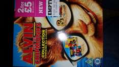 Alvin and the Chipmunks Collection Blu-ray at That's Entertainment Walsall 2.99. Also 3.69 delivered online!