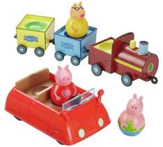 Peppa Pig Weebles and Vehicle Value Playset (car, train & 3 weebles) £11.99   @ Argos