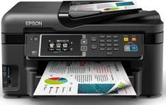 Epson WorkForce WF-3620DWF A4 Duplex 4-in-1 Small Printer with Wi-Fi and AirPrint - Black £89.98 + £20 Cashback @ Amazon